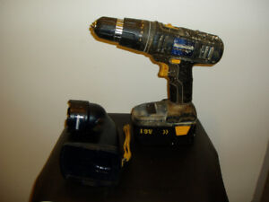 Cordless Drill / Flashlight by Mastercraft