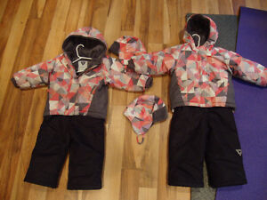 Kids Snow Suits Size 2T Girls