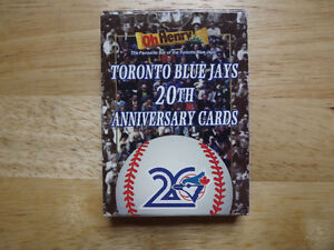 "FS: 1996 O'Henry Toronto Blue Jays ""20th. Anniversary"" Team Set"