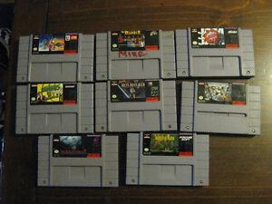 Super Nintendo Games (SNES) Cambridge Kitchener Area image 4