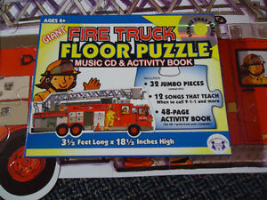 LARGE***FIRE TRUCK****FLOOR Puzzle Kingston Kingston Area image 9