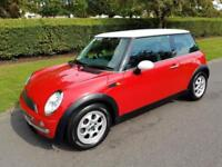 MINI COOPER 1.6 HATCH - AUTOMATIC - 3 DOOD - RED **LOW MILES**