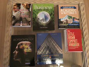 UNIVERSITY OF WINDSOR USED TEXTBOOKS FIRST/SECOND YEAR