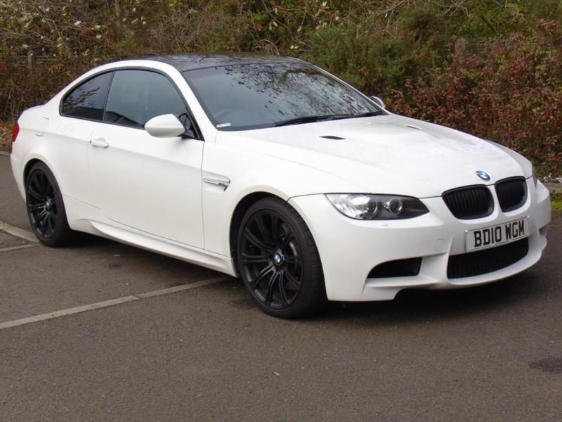 Bmw M3 4 0 Dct 2010 White 51 000 Miles Coupe Fsh 19