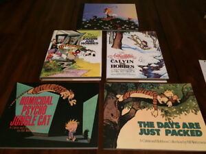 Calvin and Hobbes comic strip books