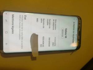 Samsung S8 débloqué