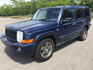 JEEP COMMANDER SPORT 4X4 2006 ( !! 162000KM. CUIR, 7 PASS. !! )