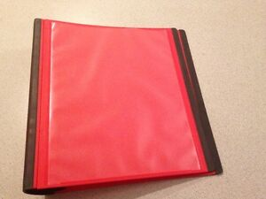 "2"" Binder red West Island Greater Montréal image 2"