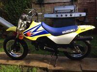 Genuine Suzuki jr 50 kids 50cc motorbike like pw 50
