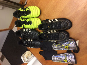 Kids size 11 soccer cleats $10