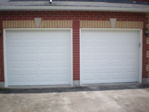 Insulated garage doors 8'x6'9""