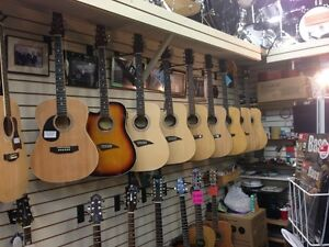 Largest Selection of Left Handed Acoustics In Town & ON SALE London Ontario image 1