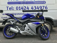 Yamaha YZF-R125 ABS / Learner Legal Sports Bike / Nationwide Delivery / Finance
