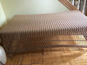 Nice wicker table for sale