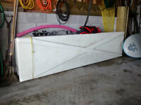 Fiberglass Sail Box, Cat Box Catamaran sailboat trailer storage