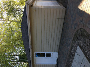 20x14 garage with door opener