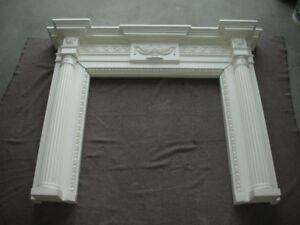 Reduced to sell. Fireplace mantle