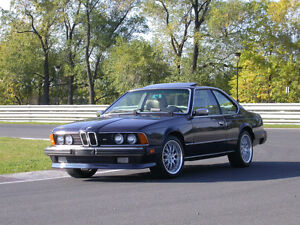 1987 BMW 6 Series 635 CSI