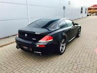 2006 56 reg BMW M6 5.0 V10 Coupe Black with RED Leather + HUGE SPEC