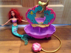 Disney Princess Ariel's Flower Shower Bathtub Accessory