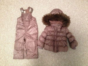 Girl's Snowsuit from The Gap