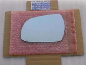 HEATED Mirror Glass for Audi A3 A4 A5 S4 S5 Driver Side Left LH