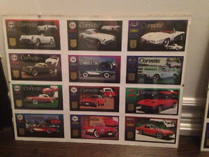 CORVETTE HERITAGE COLLECTION TRADING CARDS