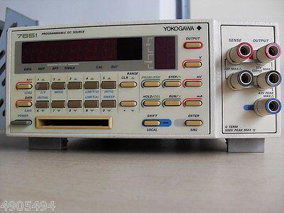 1pc Yokogawa 7651 Standard High-precision Dc Voltage Current Source