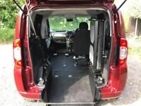 2014 Fiat Qubo 1.3 Multijet MyLife 5dr AUTOMATIC RIDE UPFRONT WHEELCHAIR ACCE...
