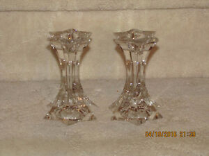 Candle Holders - Bezel Star Crystal