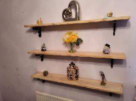 3 Wood Shelfs