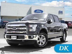 2016 Ford F-150 Lariat  502A w/Leather, Moonroof, Nav, Tech Pkg!