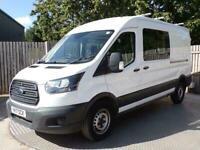 2017 Ford Transit CREW VAN EURO 6 L3 H2 A/C Combi Van Diesel Manual