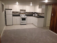 One bedroom basement apartment for rent in Toronto