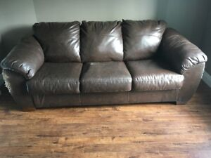 Free couches (2) and chair in Woodstock NB