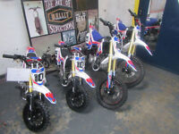 10Ten Dirt Bike MX125R 14/12 Pit Bike