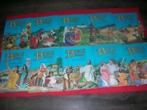 Bible Story- 10 Volumes- Arthur Maxwell-Uncle Arthur