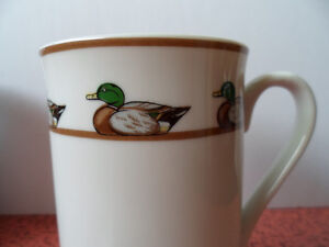 Georges Briard Decoy Gallery Ducks Coffee Mugs, Lot of 2