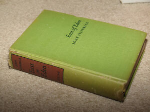 East of Eden John Steinbeck First Edition Third Printing Book
