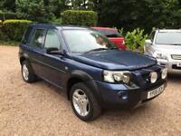 "2006/06 Land Rover Freelander 2.0Td4 Diesel 5 Door "" Adventurer "" BLUE"