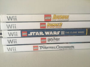 Lego Games for Nintendo Wii