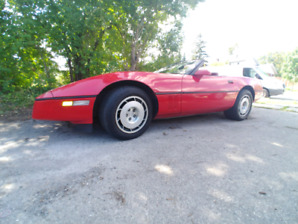 1986 corvette convertible pace TRADE? REDUCED