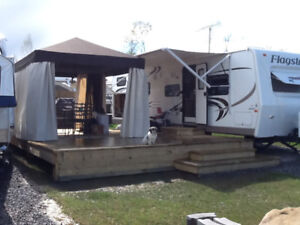 Roulotte Flagstaff Camping Atlantide