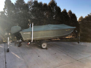 16' fishing boat mint condtion