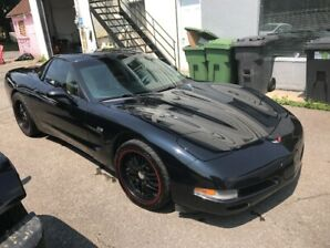 1999 CORVETTE REMOVABLE TOP CUSTOM HEADERS, EXHAUST, MAGS TIRES