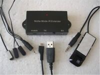 Infrared Remote Control Extender Kit - 3 Flashers