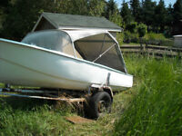 boat and trailer ,,,,or just boat