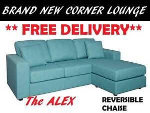 BRAND NEW Corner Lounge Sofa + Chaise FREE DELIVERY + WARRANTY New Farm Brisbane North East Preview