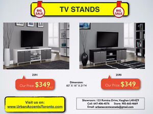 MODERN TV STANDS & CONSOLES ON SALE IN TORONTO.