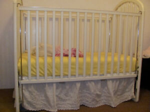 Crib and lots of accessories
